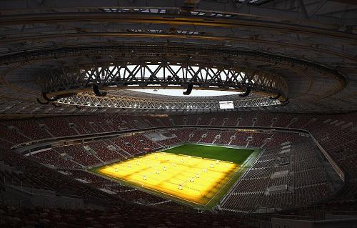 2018 Rosja Parada stadionowa Mistrzostw Świata