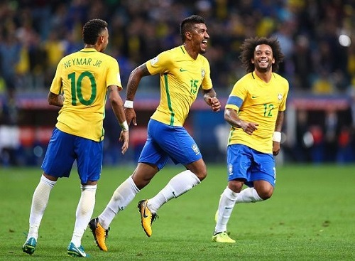 Brazylia musi być jednym z mistrzów Pucharu Świata w 2018 roku