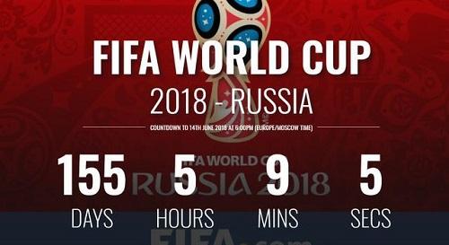 Nadal będą w Mistrzostwach Świata w 2018 roku w Rosji